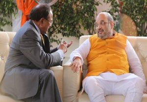 Amit Shah holds high-level meeting with NSA Doval