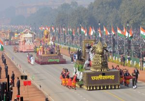 Tableaux showcase India's diversity, progress at 71st Republic Day parade