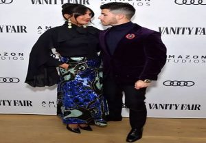 Priyanka, Nick set temperatures soaring at the Vanity Fair red carpet | See Pics