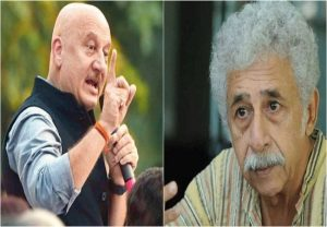 Anupam Kher hammers Naseeruddin Shah For 'clown' Jibe (video)