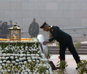 CDS General Bipin Rawat pays homage to martyrs at National War Memorial | See Pics