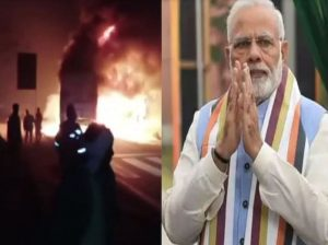 PM Modi expresses grief over deaths in Kannauj road accident