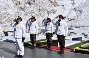 IN PICS: Army Chief General MM Naravane's visit to Siachen