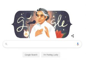 Google doodle celebrates Kaifi Azmi on his birth anniversary