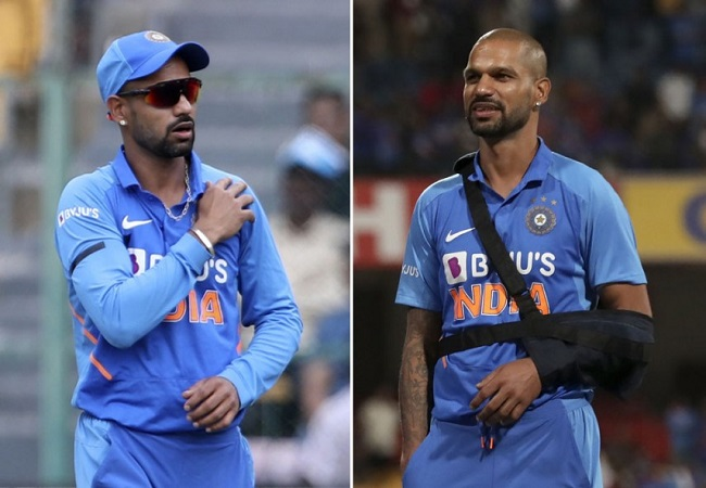 Injury rules Shikhar Dhawan out of T20I series against New Zealand