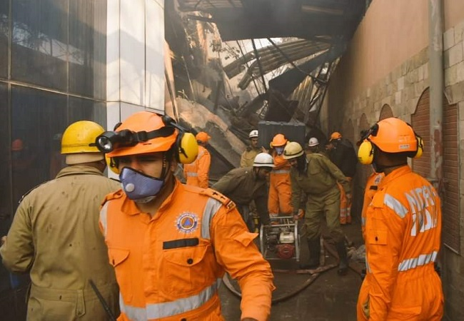 Peeragarhi factory fire: 14 injured, rescue operations underway