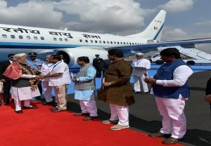 PM Modi arrives in Bengaluru for a 2 day visit | See Pics