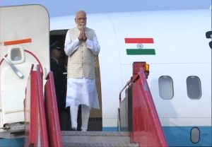 PM Modi arrives in Kolkata on his two-day visit | See Pics