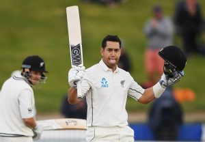 Ross Taylor surpasses Fleming to become leading run-getter for Kiwis in Tests