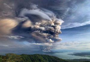 Philippines on alert: Volcano spews ash, prompting evacuations and airport closure