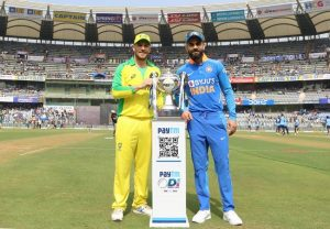 Australia win toss, opt to field first against India in first ODI