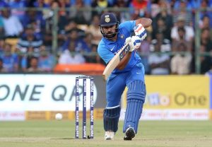 NZvIND 3rd T20: Rohit Sharma hits the final two balls for six to win the game