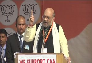 Amit Shah challenges Rahul, Mamata, Akhilesh for debate on CAA