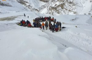IN PICS: IAF helicopters rescue 71 stranded trekkers in Ladakh