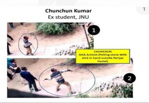 IN PICS: 9 masked suspects in JNU violence identified by Delhi Police