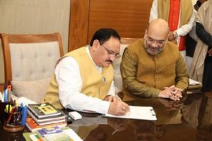 JP Nadda, the man who replaced Amit Shah as BJP chief (PICs)