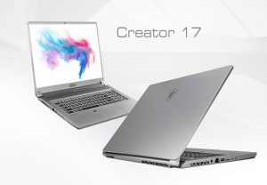 MSI Creator 17 is world's first laptop with Mini LED display