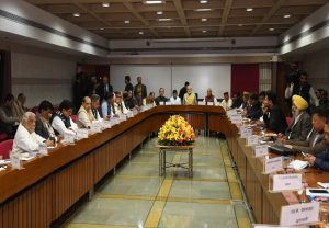 Govt open for discussion on all issues in Budget Session: PM Modi after all-party meet
