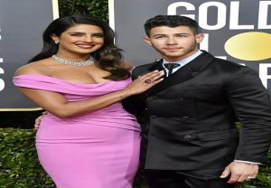 Golden Globe Awards 2020: Priyanka Chopra, Nick Jonas hit the red carpet in Style | See Pics