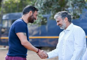 Tanhaji actor Ajay Devgn begins shooting for SS Rajamouli's RRR