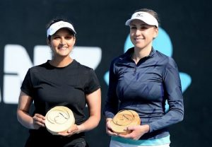 Sania Mirza wins Hobart International tournament