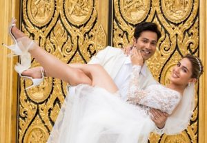 Varun Dhawan shares new glimpse from 'Coolie No. 1'