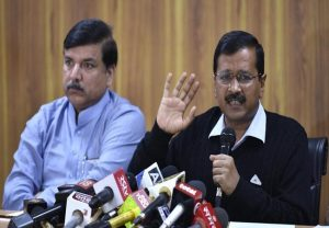 Kejriwal will return to power with majority in Delhi, says Sanjay Singh