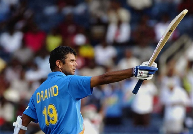 BCCI relives Dravid's knock of 153 against New Zealand