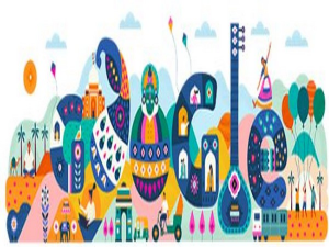 Google marks India's 71st Republic Day with a doodle depicting country's rich cultural heritage