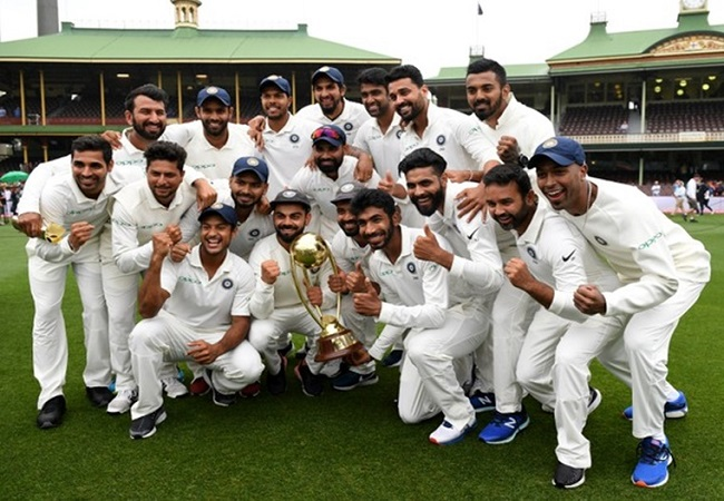 On this day, India registered its first Test series win in Australia