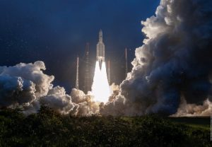 ISRO's GSAT-30 Communication Satellite launched aboard Ariane Rocket