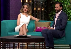 Kangana Ranaut lashes at Saif Ali Khan for his 'No Concept of India Before the British' comment