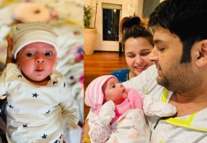 Kapil Sharma names daughter Anayra, shares first pics