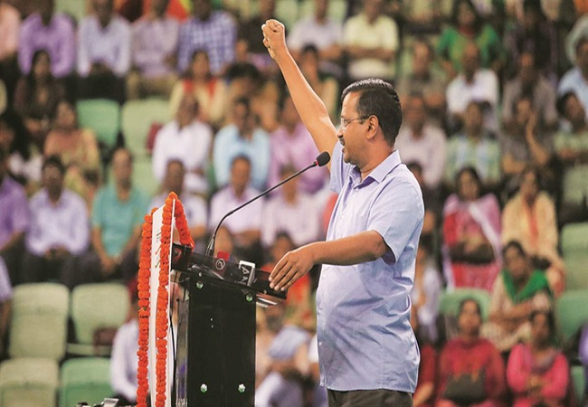 Full statehood to Delhi will be part of AAP's manifesto: Kejriwal