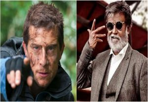 Bear Grylls, Rajinikanth arrive at Bandipur to shoot 'Man vs Wild' episode