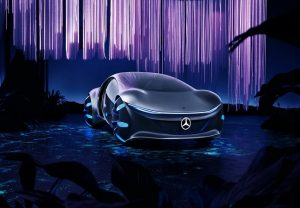 Mercedes-Benz raises curtain from other-worldly looking 'Avatar' inspired concept car