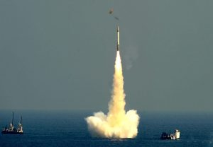 India successfully test-fires 3,500 km range K-4 ballistic missile