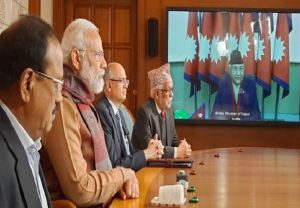 PM Modi, Oli jointly inaugurate Jogbani-Biratnagar check post, launch development projects
