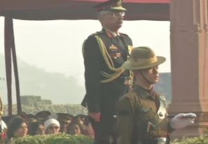 New Army chief Lt Gen MM Naravane visits National War Memorial in Delhi
