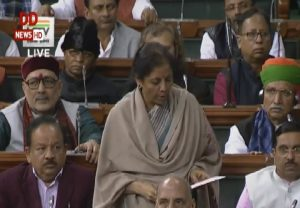Finance Minister Nirmala Sitharaman tables Economic Survey 2019-20 in Lok Sabha