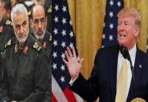 US killed Soleimani 'No. 1 terrorist … in world,' says Trump as Iran protests enters day 3