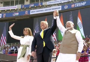 History has been created: PM Modi at 'Namaste Trump' event