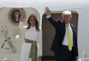 US President Trump leaves for New Delhi from Agra