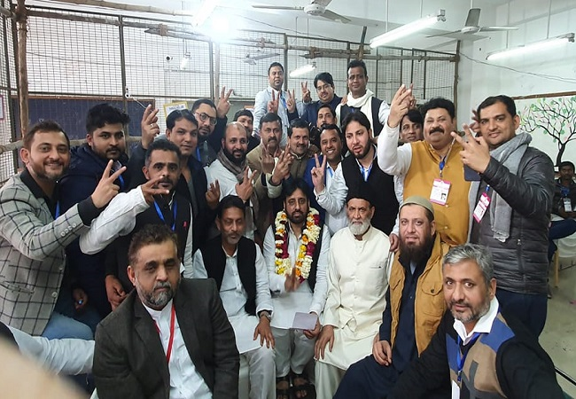 AAP's Amanatullah defeats BJP candidate by over 71k votes despite polarising campaign against Shaheen Bagh