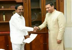 Akbaruddin Owaisi requests Telangana CM to expand temple complex