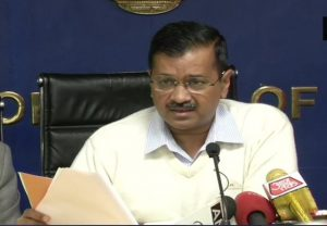 Arvind Kejriwal shares updates about the lockdown and Covid-19 in Delhi
