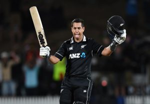 Taylor, Latham lead New Zealand to four-wicket win over India in first ODI