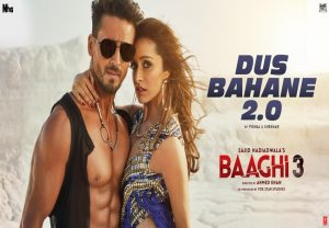 First music video 'Dus Bahane 2.0' from 'Baaghi 3' out