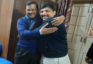 'Today India has won', says Sanjay Singh as AAP set for huge victory in Delhi elections