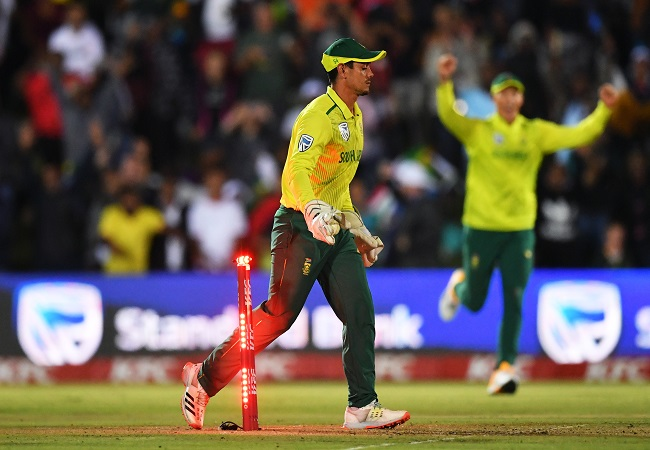 South Africa win first T20I thriller by 1 run as England collapses